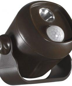 Acclaim Lighting(R) B200BZ Motion-Activated LED Mini Spotlight (Bronze)