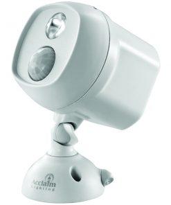 Acclaim Lighting(R) B225GR Motion-Activated LED Spotlight (Dove Gray)
