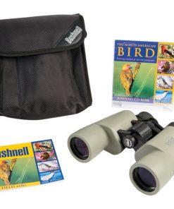 Bushnell(R) 118042C Birder 8 x 40mm Porro Binoculars with CD