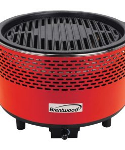 Brentwood Appliances BBF-21R Round Portable Smokeless BBQ