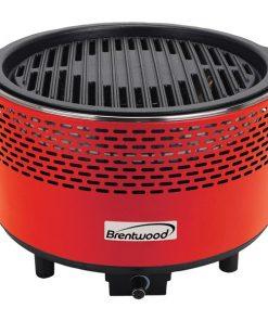 Brentwood Appliances BBF-21R Round Portable Smokeless BBQ