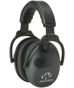Walker's Game Ear(R) GWP-AMCARB Alpha Power Muffs with Microphone (Carbon Graphite)