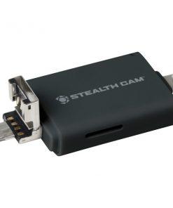 Stealth Cam(R) STC-DDMCR Triple Connection Memory Card Reader