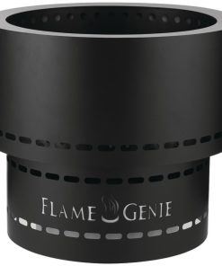FlameGenie(TM) FG-19 Flame Genie INFERNO(TM) Wood Pellet Fire Pit (Black)