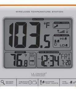 La Crosse Technology(R) 308-179OR Wireless Weather Station