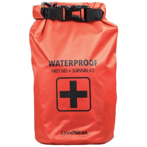 Life+Gear 41-3820 130-Piece Dry Bag First Aid & Survival Kit