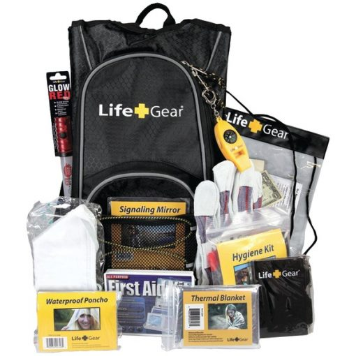 Life+Gear LG492 Day Pack Emergency Survival Backpack Kit