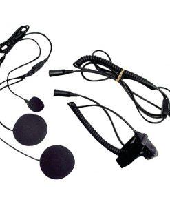 Midland(R) AVPH2 2-Way Radio Accessory (Closed-Face Helmet Headset Speaker/Microphone)