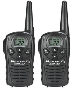 Midland(R) LXT118 18-Mile GMRS Radio Pair Pack