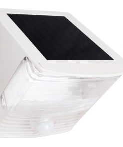MAXSA(R) Innovations 40234 Solar-Powered Motion-Activated Wedge Light (White)