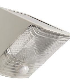 MAXSA(R) Innovations 40235 Solar-Powered Motion-Activated Wedge Light (Gray)