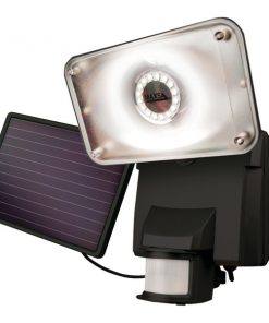 MAXSA(R) Innovations 44641 Motion-Activated Solar LED Security Flood Light (Black)
