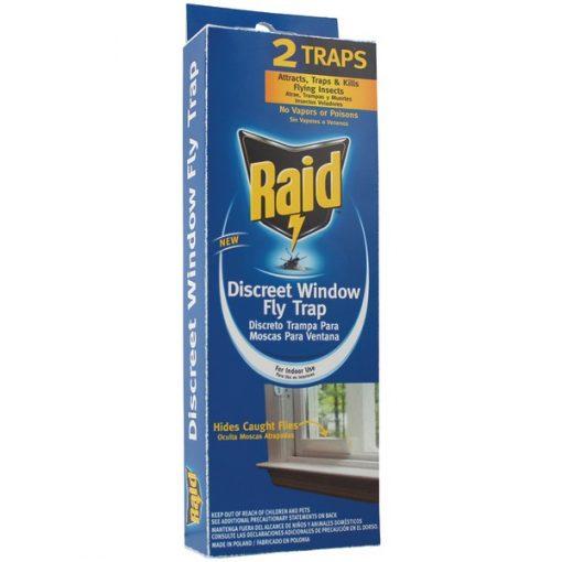 PIC(R) FLYHIDE-RAID Discreet Window Fly Trap