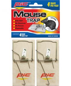 PIC(R) MTW4INN Wood Mouse Traps