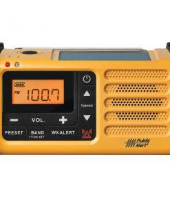 Sangean MMR-88 AM/FM Weather Crank Radio with USB