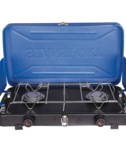 Stansport(TM) 203-93-50 2-Burner Propane Stove