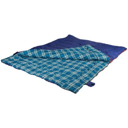 Stansport(TM) 533-100 2-Person Convertible Sleeping Bag