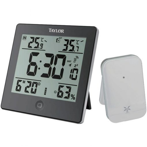 Taylor(R) Precision Products 1731 Digital Weather Forecaster with Alarm Clock