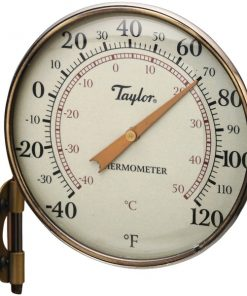 "Taylor(R) Precision Products 481BZN Heritage Collection Dial Thermometer (4.25"")"