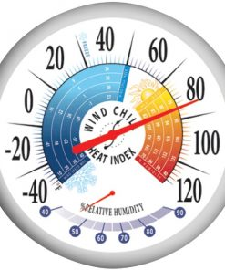 """Springfield(R) Precision 90078 13.25"""" Thermometer with Hygrometer"""