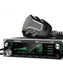 Uniden(R) BEARCAT 880 40-Channel Bearcat 880 CB Radio with 7-Color Display Backlighting