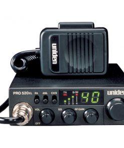 Uniden(R) PRO520XL 40-Channel 4-Watt Compact CB Radio