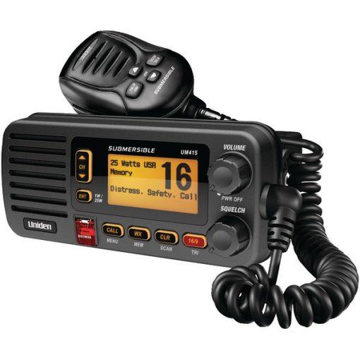 Uniden(R) UM415BK Oceanus D Marine Radio (Black)
