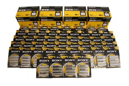 Case of 192 AA Batteries