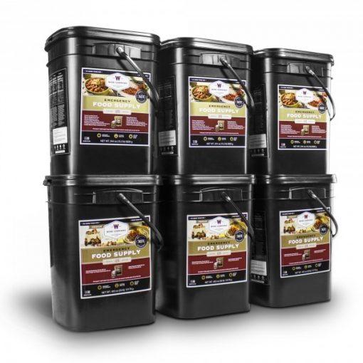 720 Servings of Wise Emergency Survival Food Storage