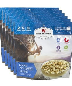 NEW Outdoor Apple Cinnamon Cereal - 6 PACK
