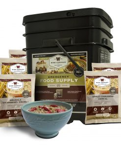 NEW 120 Serving Breakfast Only Grab and Go Bucket