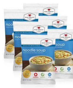 NEW Chicken Noodle Soup Cook in the Pouch - 6 PACK
