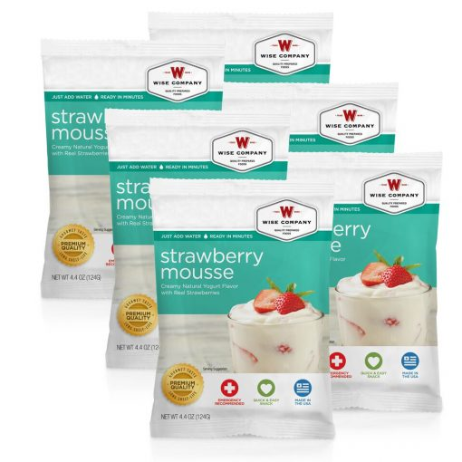 NEW Strawberry Mousse - 6 PACK