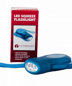 Squeeze Powered Flashlight