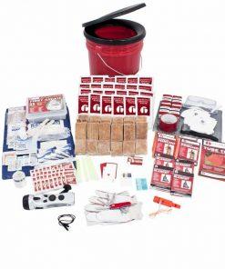 4 Person Elite Bucket Survival Kit (72+ Hours)