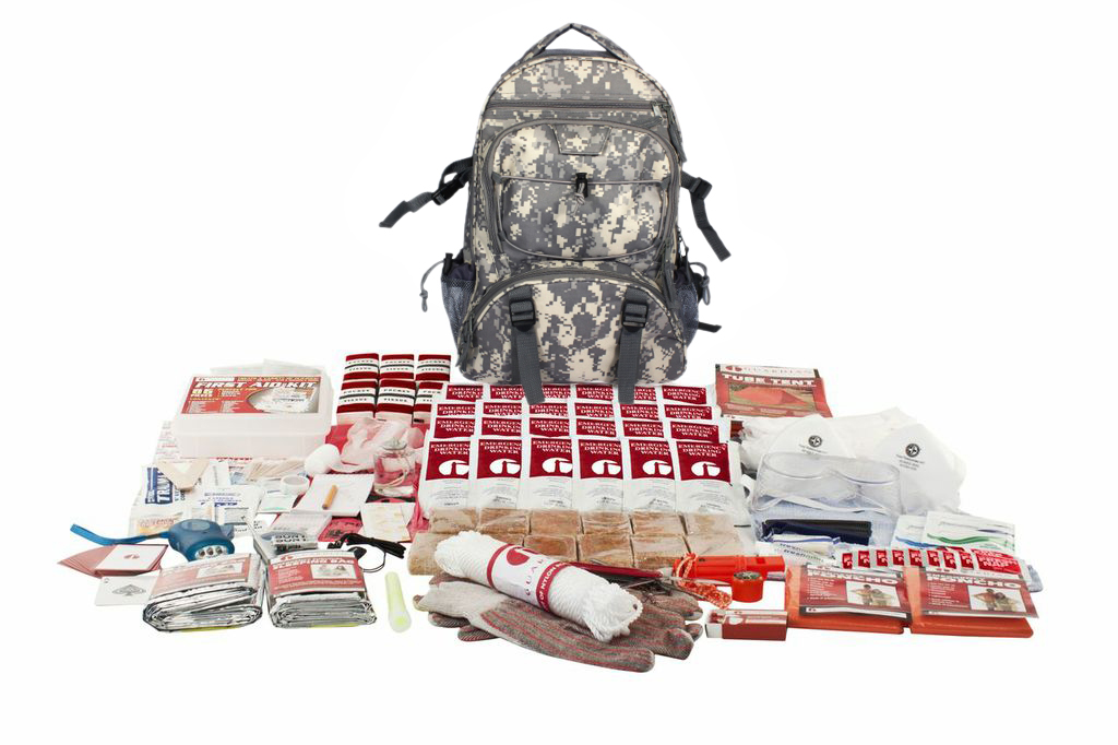 2 Person Elite Survival Kit (72+ Hours) SKT2||CAMO Backpack