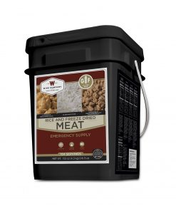 NEW Freeze Dried Meat Bucket - 104 Servings Gluten Free