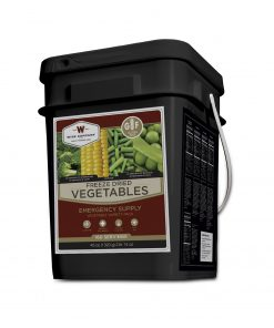 NEW Freeze Dried Vegetable - 160 Servings  Gluten Free